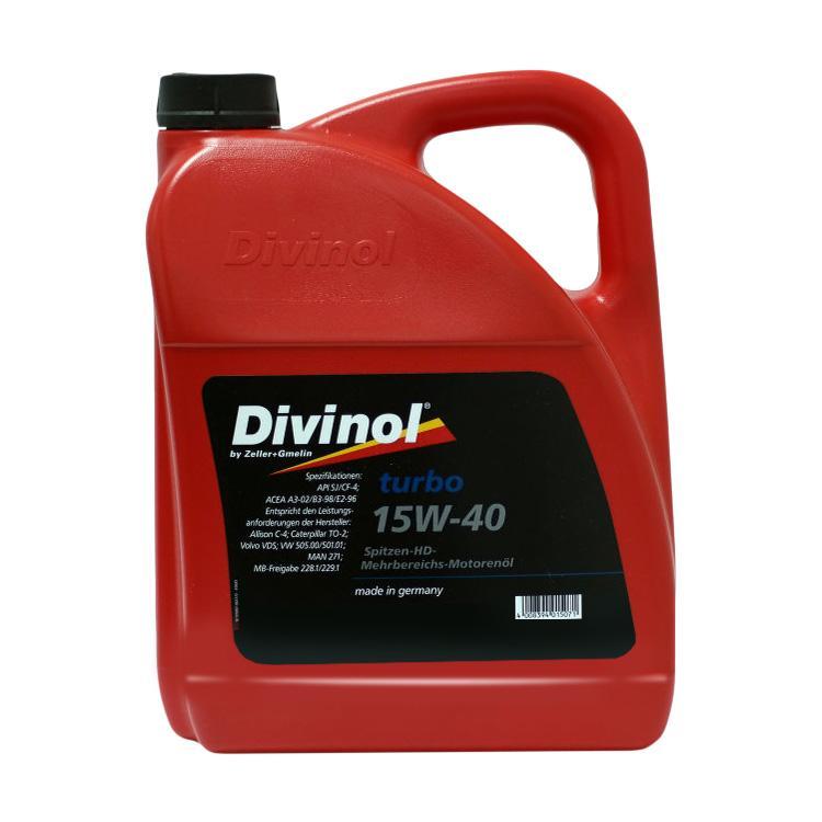 49681 Divinol Turbo 15W 40