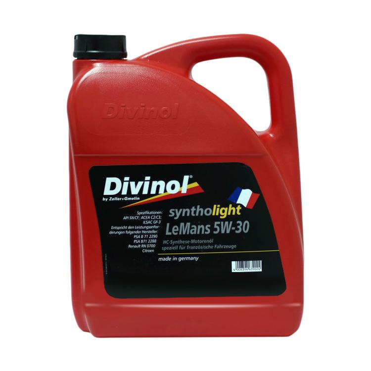 4970LM Divinol Syntholight LeMans 5W 30 1