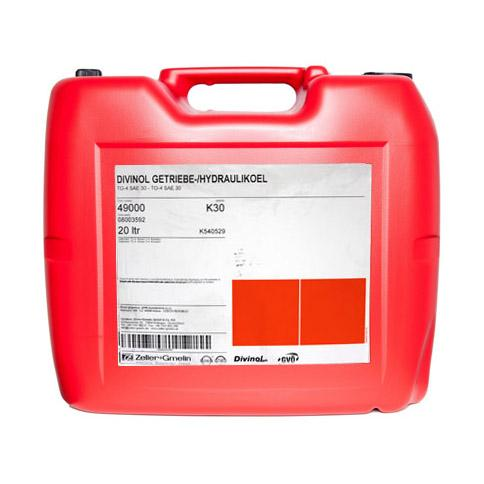 49000 Divinol Getriebe Hydraulik Ol TO 4 20l