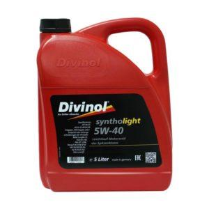 49520 Divinol Syntholight 5W 40 Longlife 1