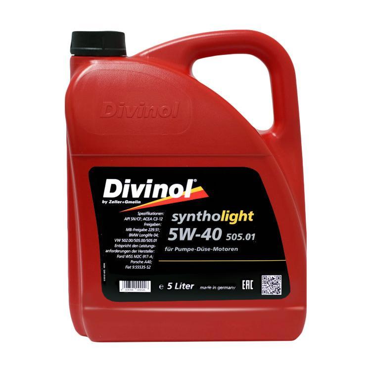 49540 Divinol Syntholight 505.01 5W 40 Longlife 1