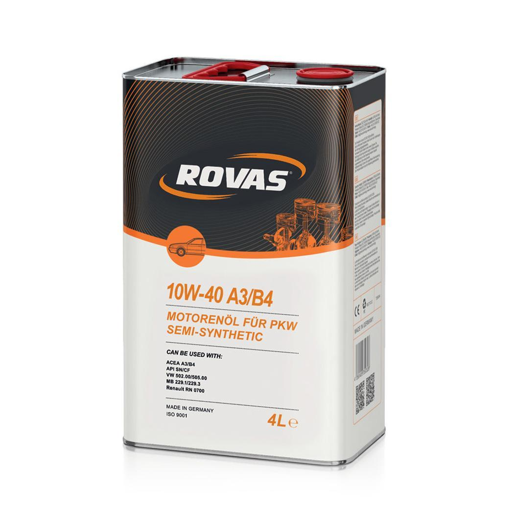 Rovas 10W 40 A3 B4