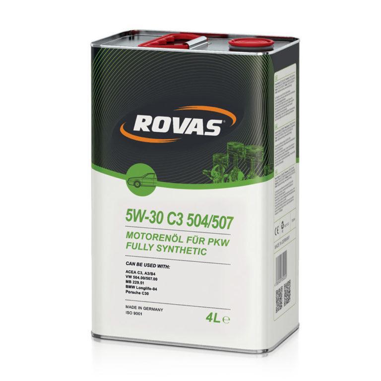 Rovas 5W-30 С3 504/507