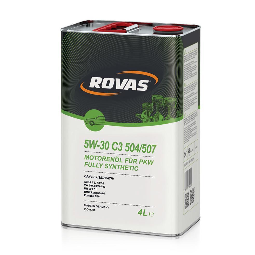 Rovas 5W 30 S3 504 507