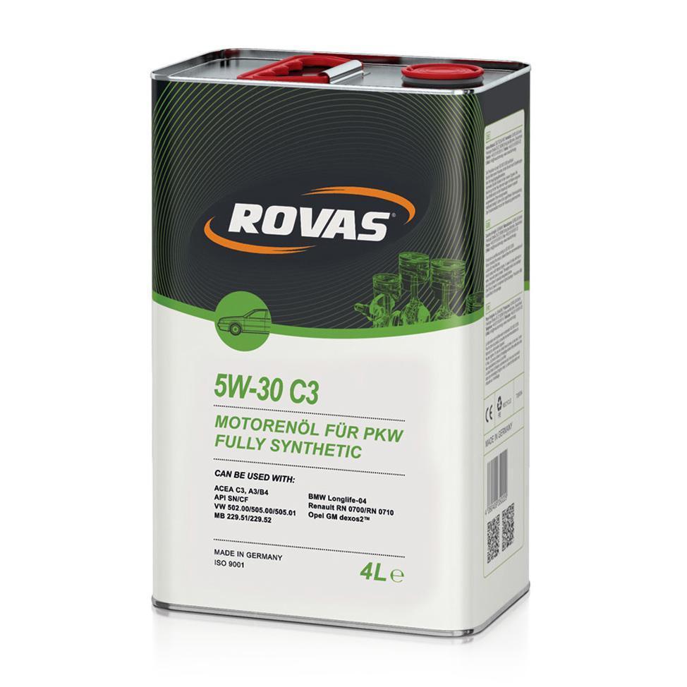 Rovas 5W 30 S3