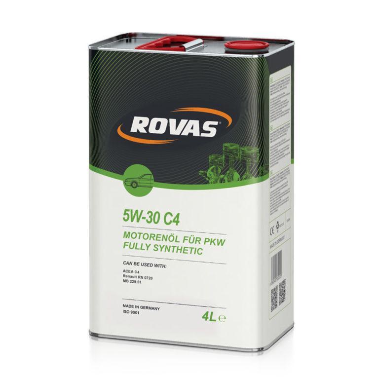 Rovas 5W-30 С4