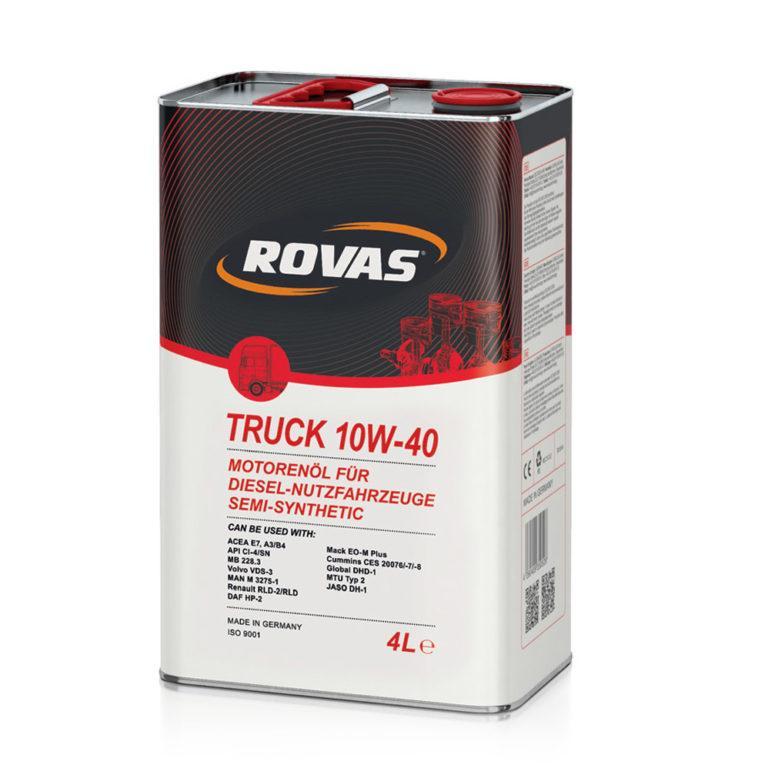 Rovas Truck 10W-40