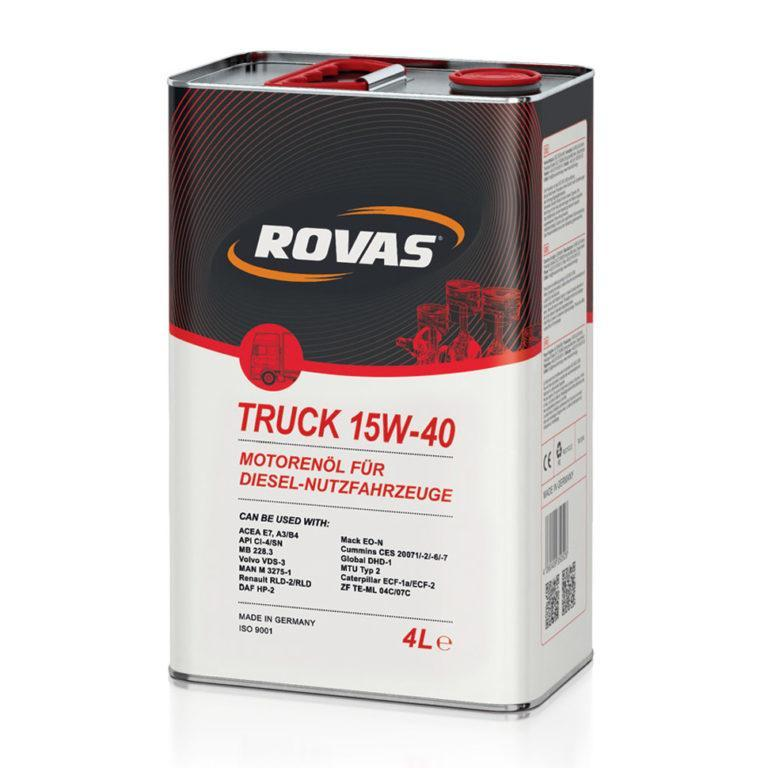 Rovas Truck 15W-40