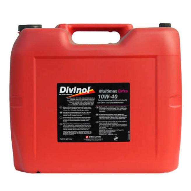 divinol multimax extra 10w 40 20l