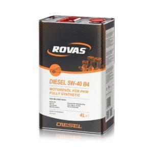 Rovas Diesel 5W-40 B4
