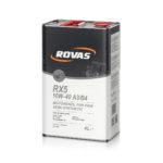 rovas rx5 10w 40 a3b4