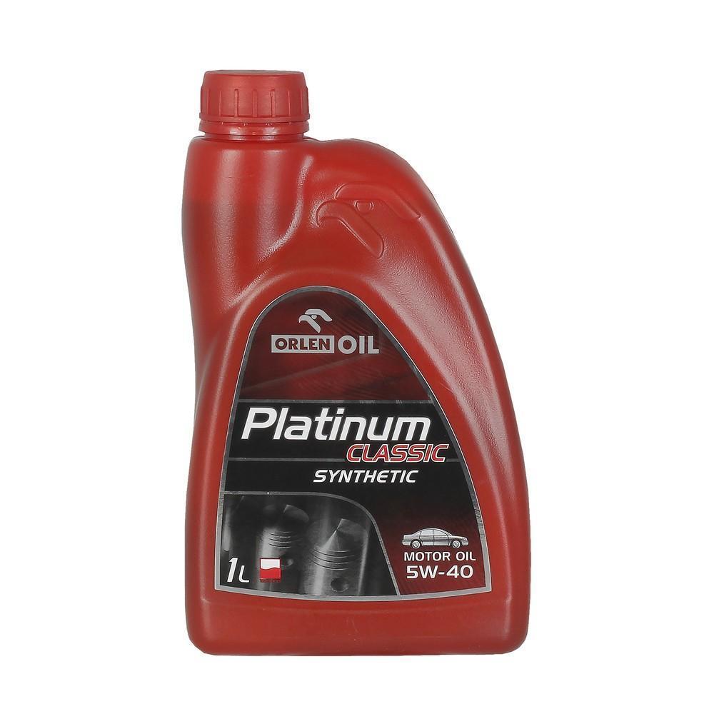 ORLEN OIL PLATINUM CLASSIC SYNTHETIC 5W 40 1L