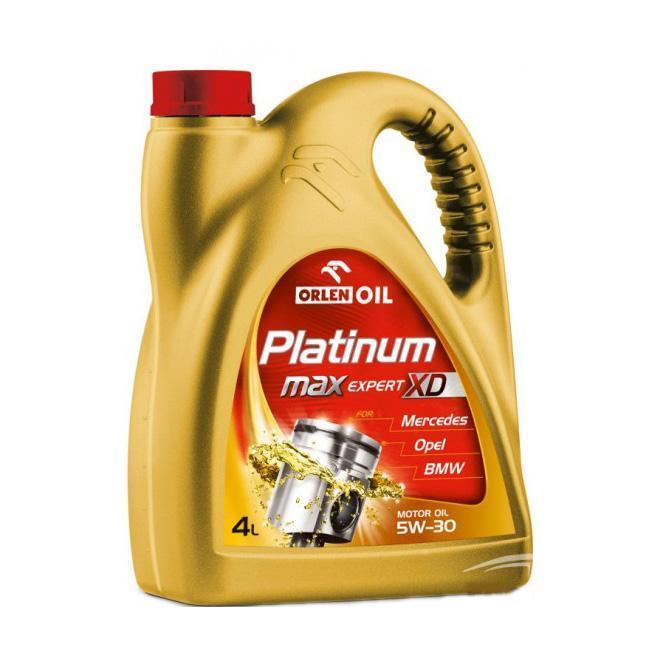 motornoe maslo orlen platinum max expert xd 5w30 4l