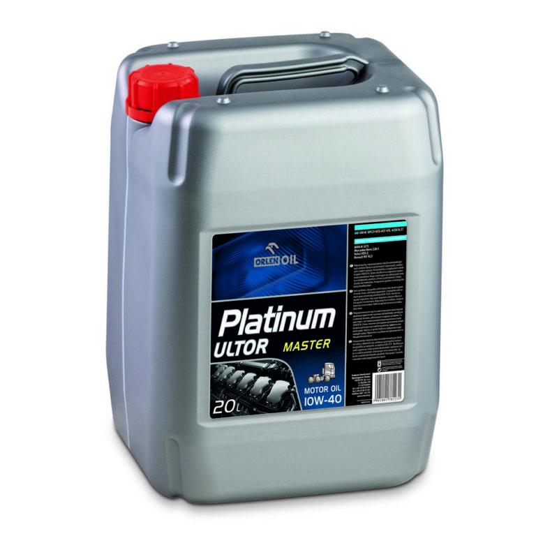 Orlen OIL Platinum Ultor Master 10W-40