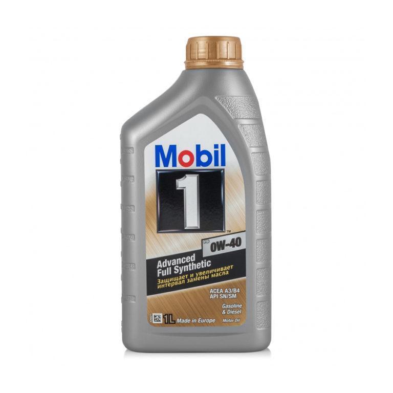 Масло моторное Mobil 1 FS 0W-40
