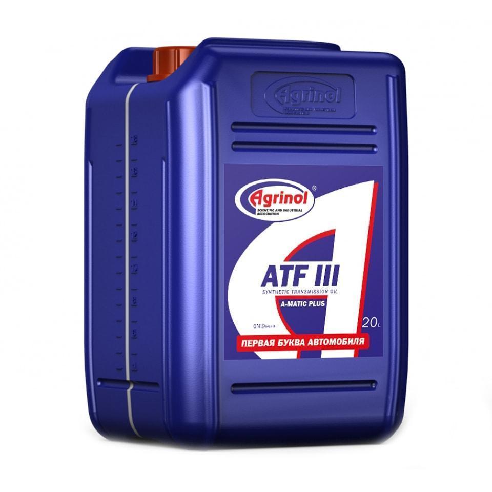 Agrinol A Matic Plus ATF III 20l min