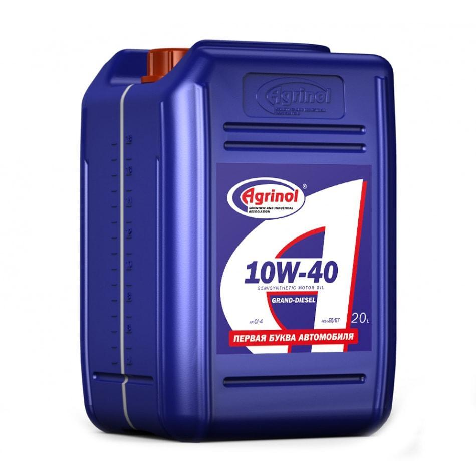 Agrinol Grand Diesel 10W 40 CI 4 20l min
