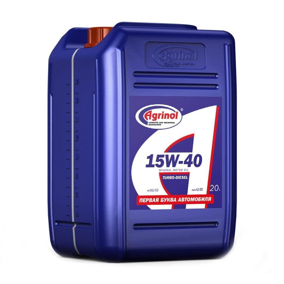 Agrinol Turbo Diesel 15W 40 CD SG CD 20l min