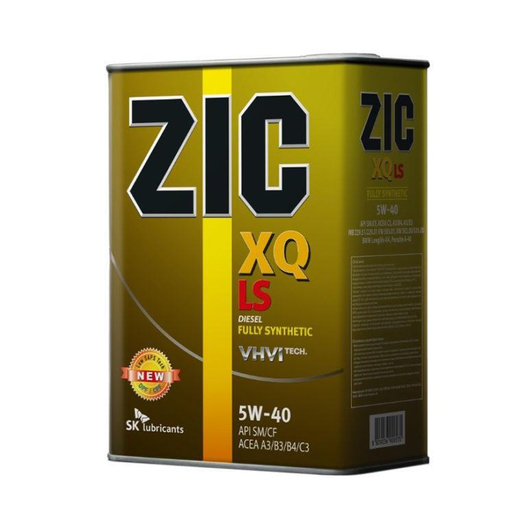 ZIC XQ LS 5W-40