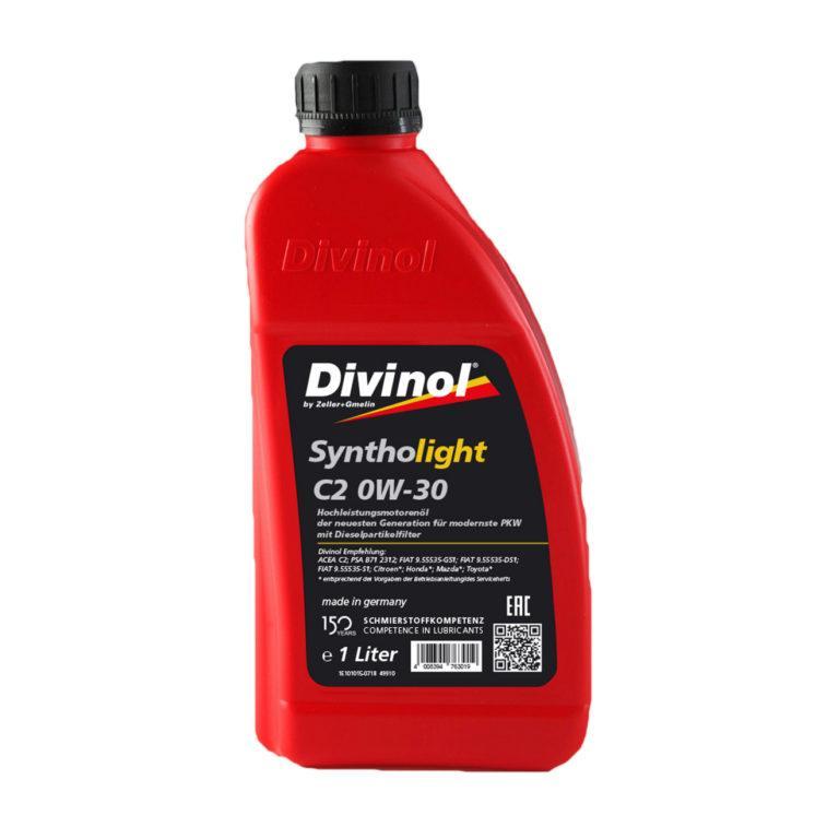 Divinol Syntholight C2 0W-30